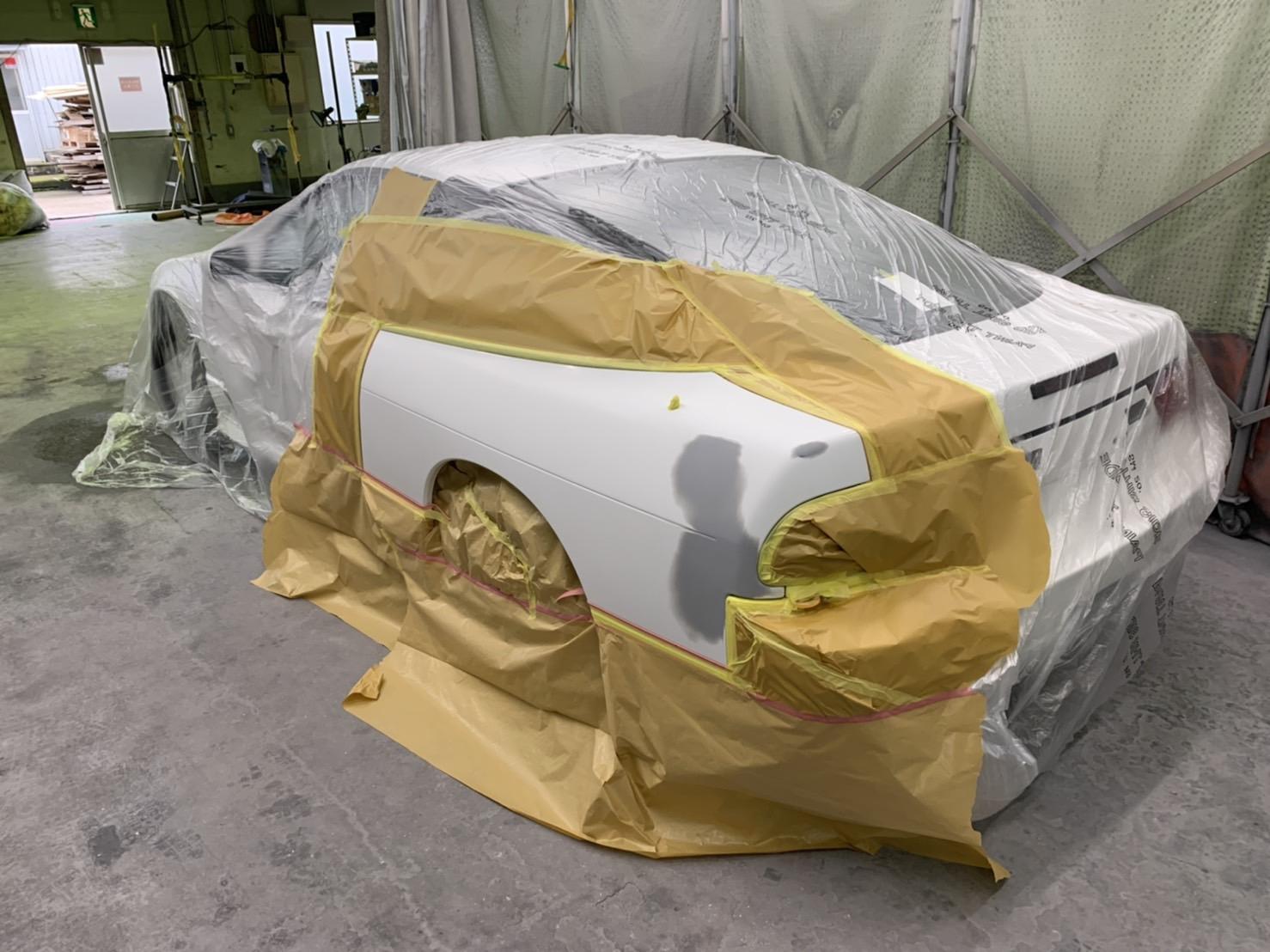 日産180SX 鈑金塗装