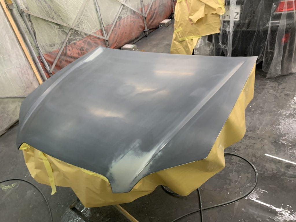 レガシーB4のキズ・ヘコミ修理