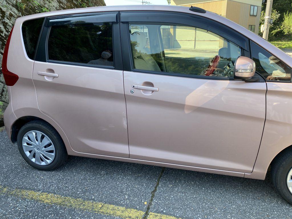 日産 デイズの凹み修理 富山 車の傷凹み修理、板金塗装