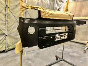 日産 クリッパー バンパー傷塗装修理